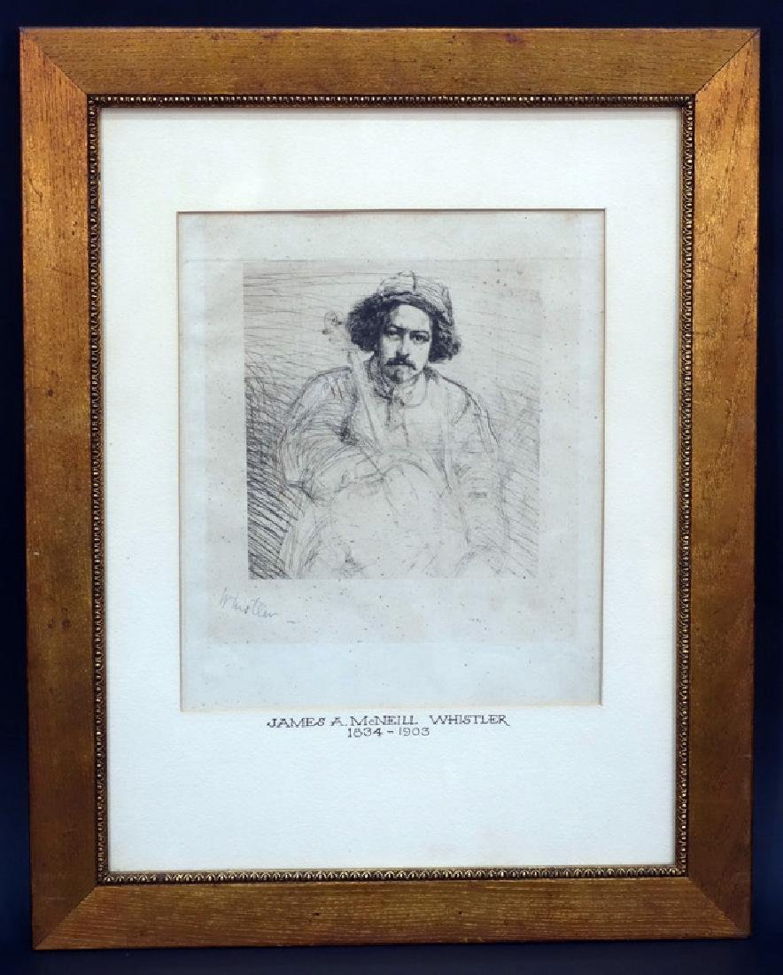 JAMES McNEILL WHISTLER ENGRAVING