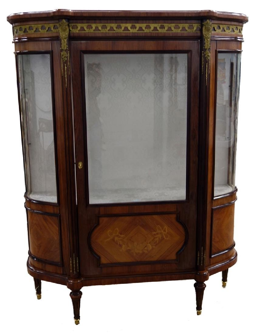 PROVINCIAL STYLE CHINA CABINET