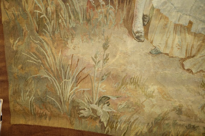 TAPESTRY COURTING SCENE - 4