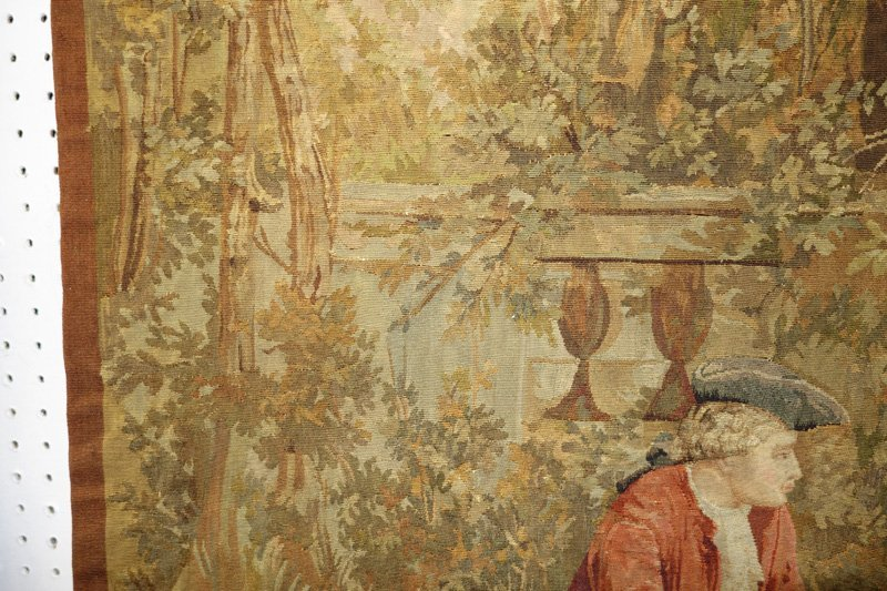 TAPESTRY COURTING SCENE - 7