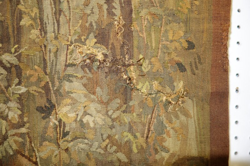 TAPESTRY COURTING SCENE - 8