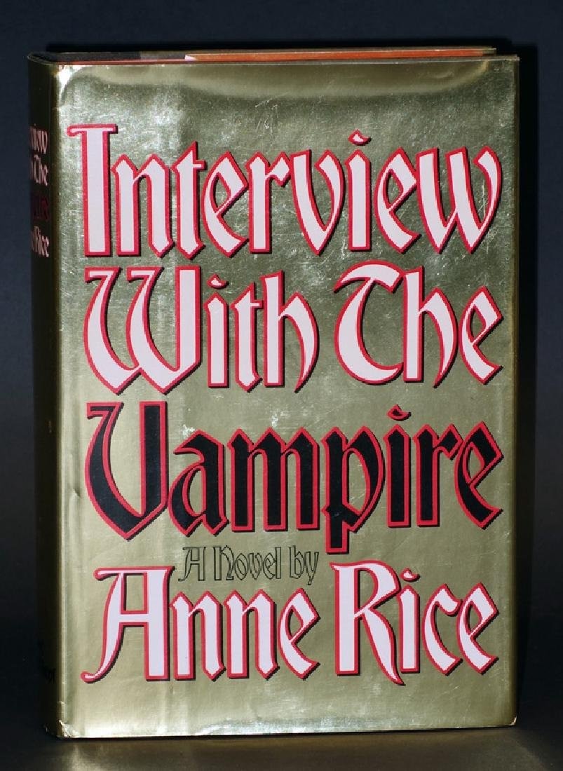 "ANNE RICE NOVEL ""INTERVIEW WITH THE VAMPIRE"""