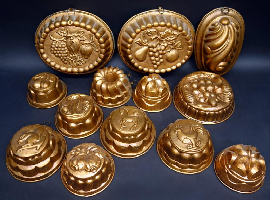 COPPER FOOD MOLDS (13)