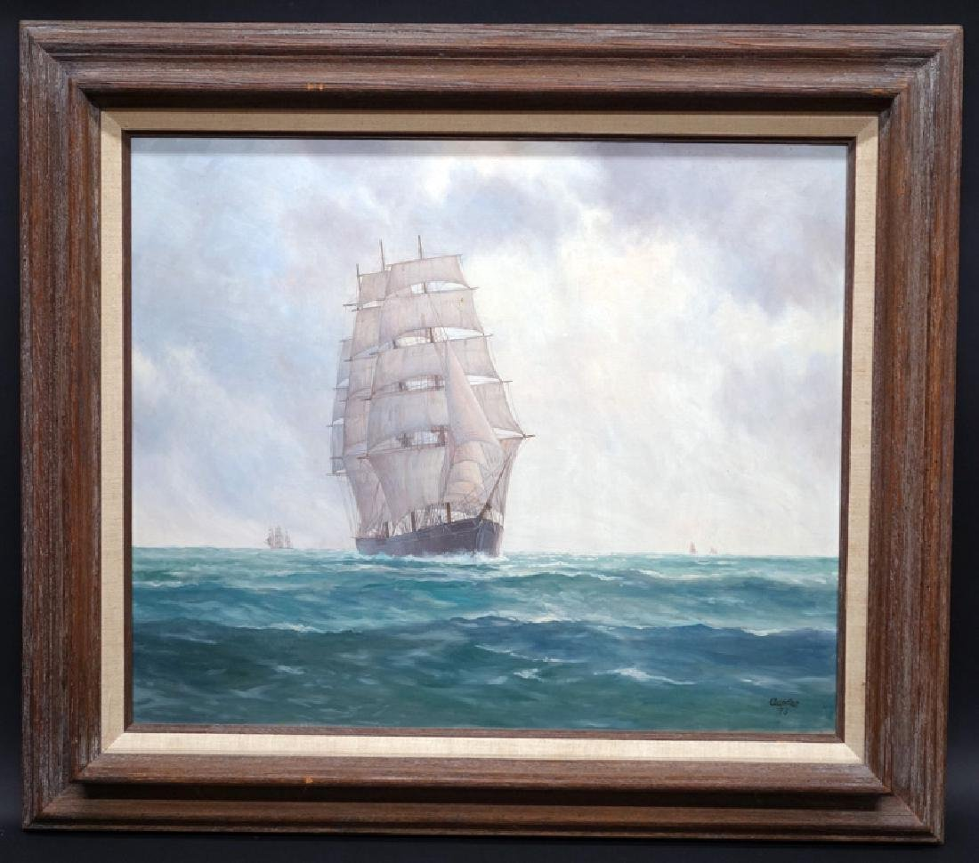 OURSLER NAUTICAL PAINTING