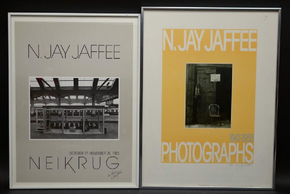 JAY JAFFEE POSTERS (3) ALL SIGNED