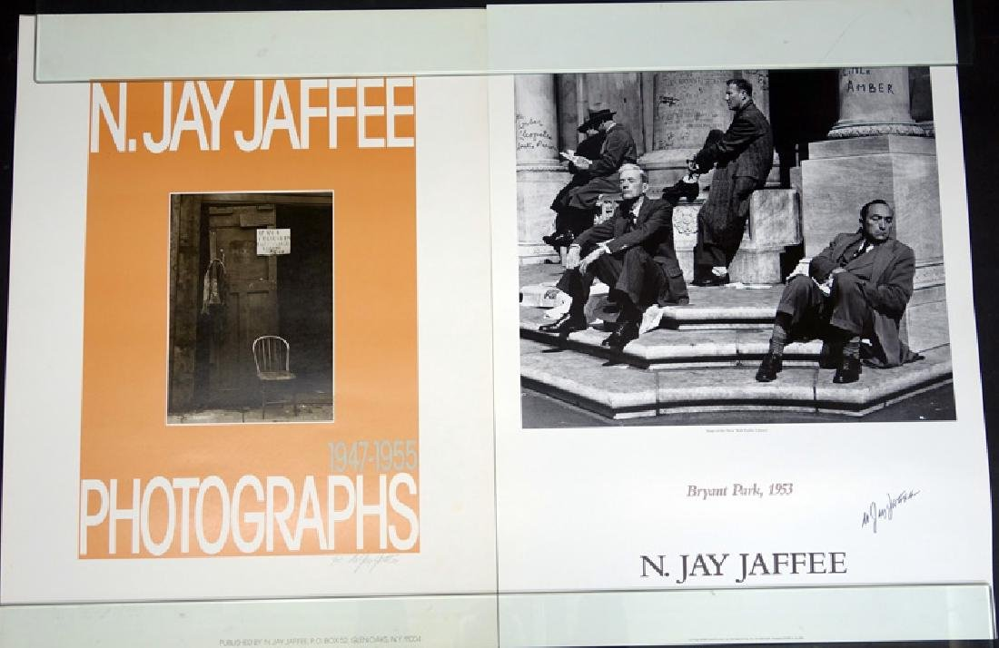 JAY JAFFEE POSTERS GROUP OF (5) - 2