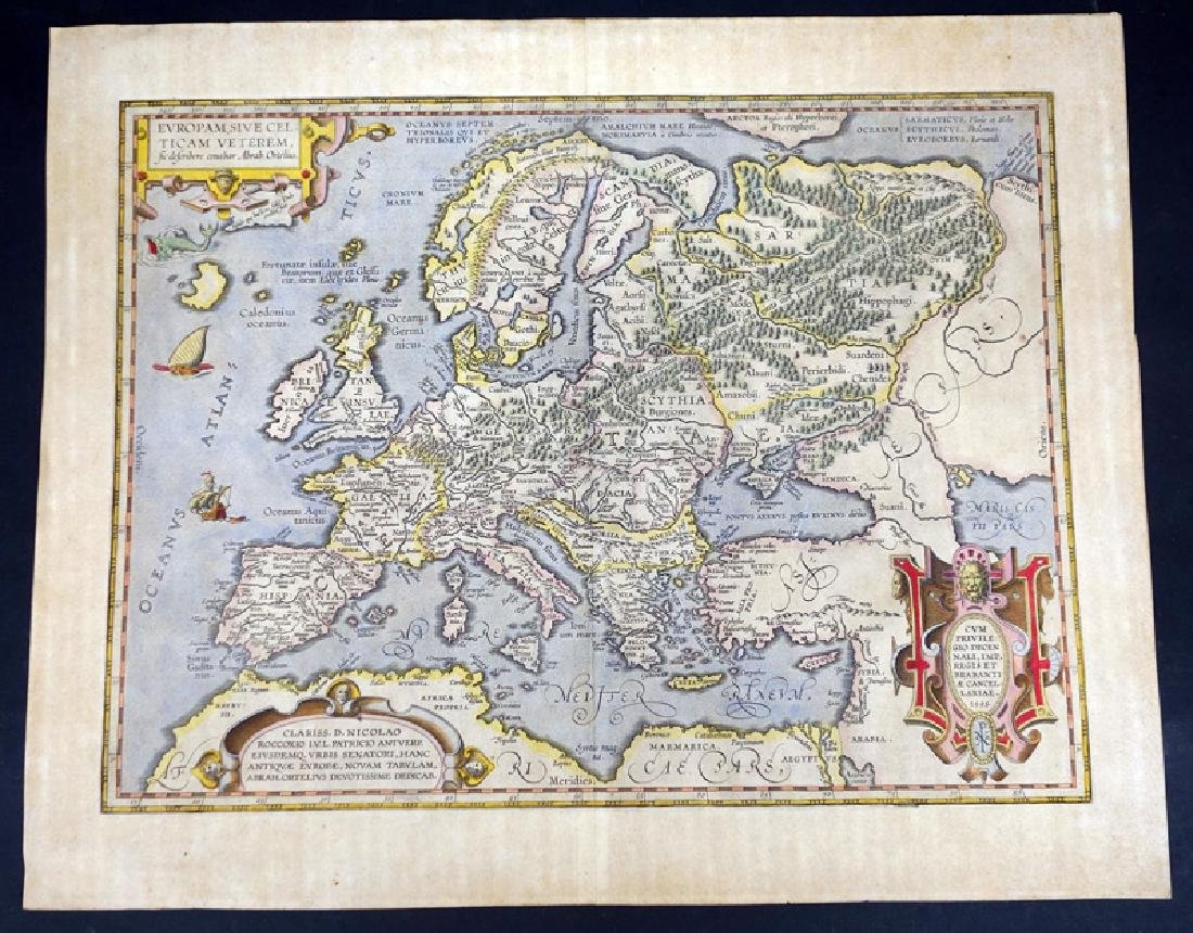 EARLY MAP EUROPA