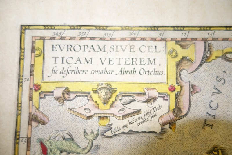 EARLY MAP EUROPA - 4