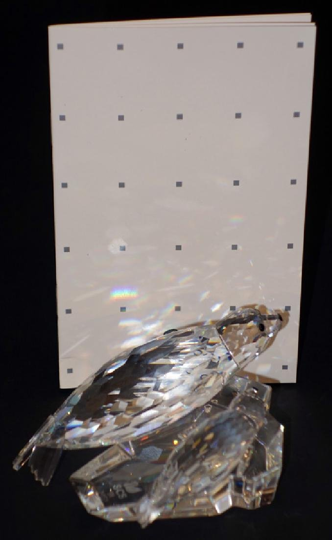 "SWAROVSKI ""SAVE ME"" THE SEALS CRYSTAL FIGURINE"