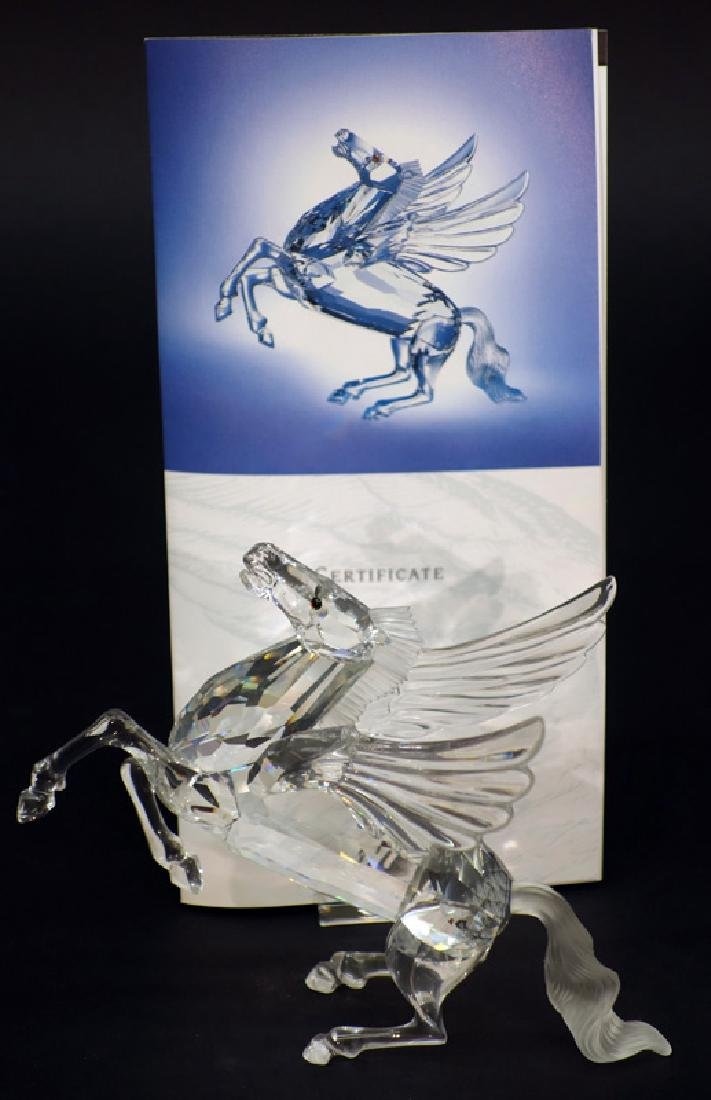 "SWAROVSKI ""FABULOUS CREATURES"" THE PEGASUS CRYSTAL"