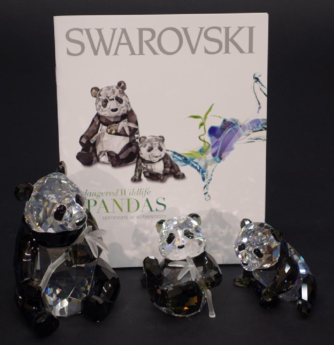 "SWAROVSKI ""ANNUAL EDITION 2008 PANDAS"" CRYSTAL"