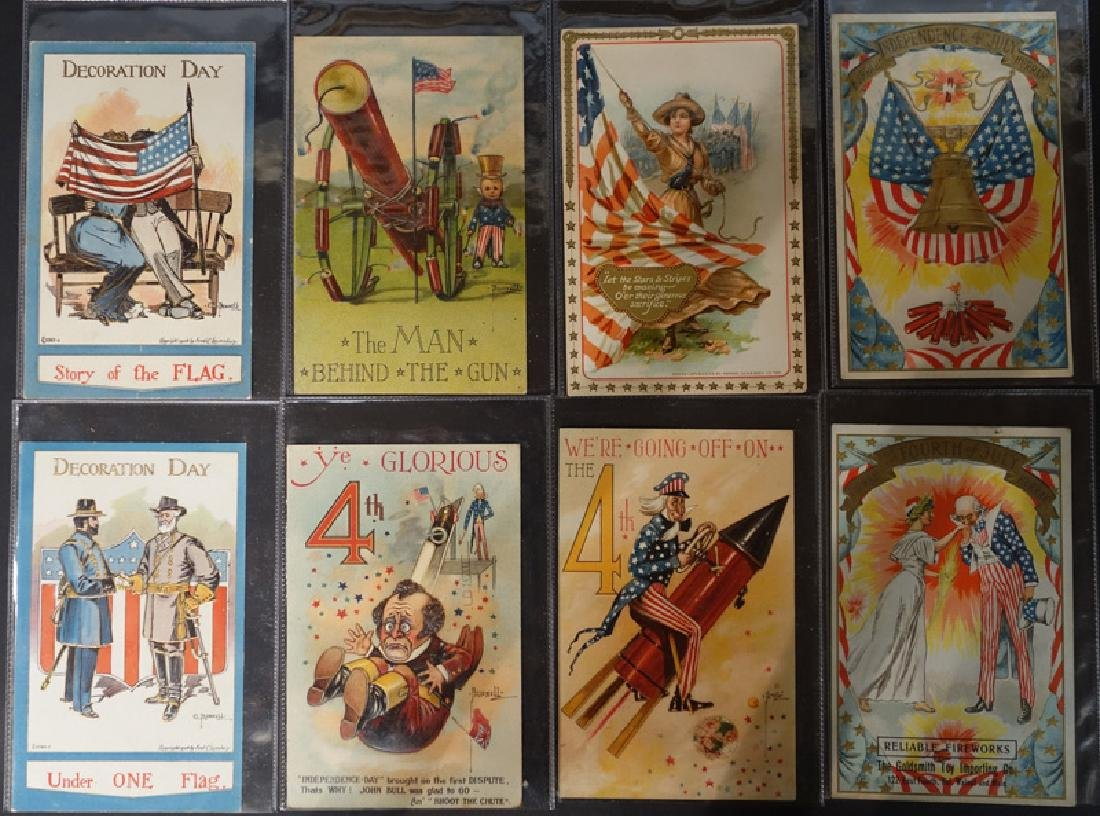 POSTCARDS 4TH OF JULY (18)