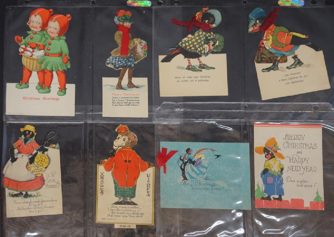 CHRISTMAS ANIMATED & DIE-CUT CARDS (15)