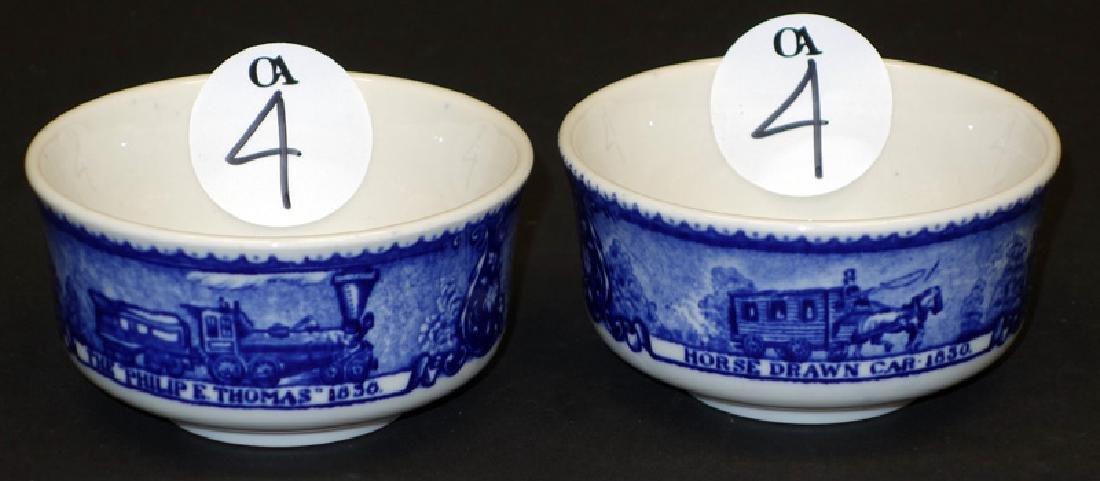 B&O (2) HANDLESS BOUILLON CUPS