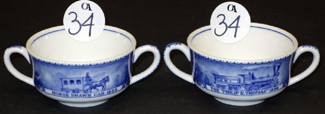B&O 2-HANDLED BOUILLON CUPS