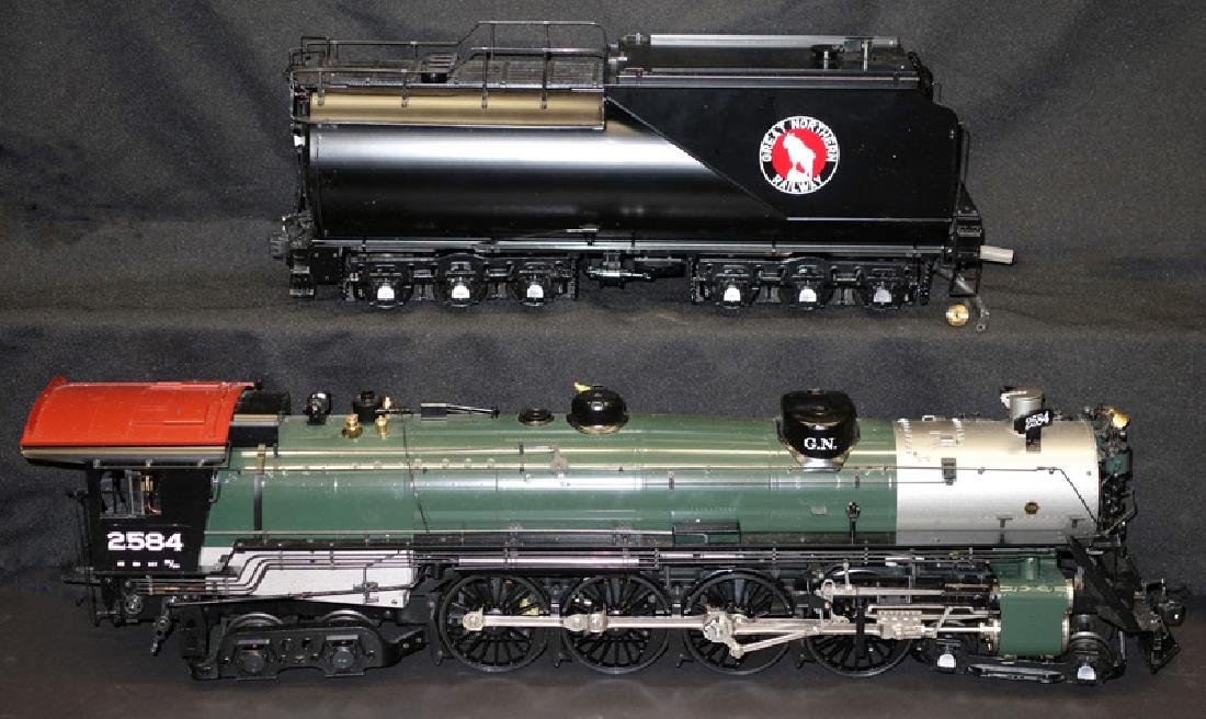 ASTER 1 GAUGE GREAT NORTHERN ENGINE & TENDER