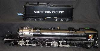 ACCUCRAFT 1 GAUGE SOUTHERN PACIFIC ENGINE & TENDER