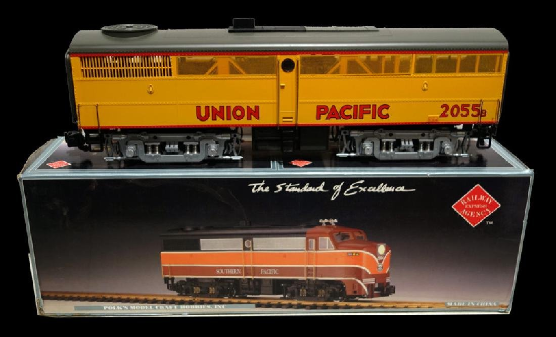 POLK DIESEL LOCOMOTIVES (2)