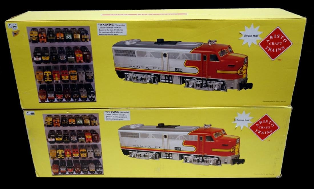 ARISTOCRAFT DIESEL LOCOMOTIVES (2)