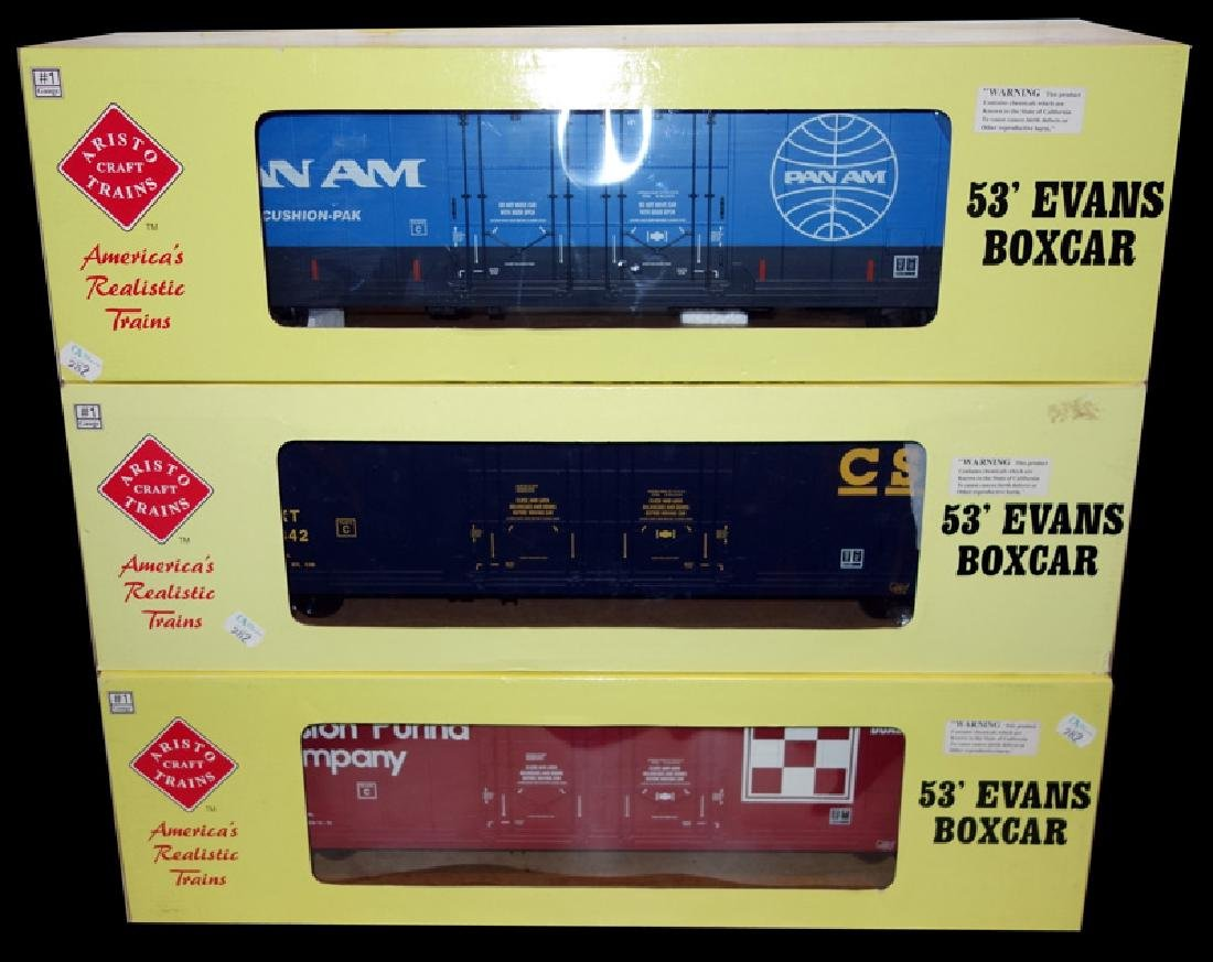 ARISTOCRAFT GA1 BOX CARS (3)