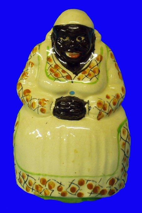 15: BLACK AMERICANA Mammy String Holder Japan