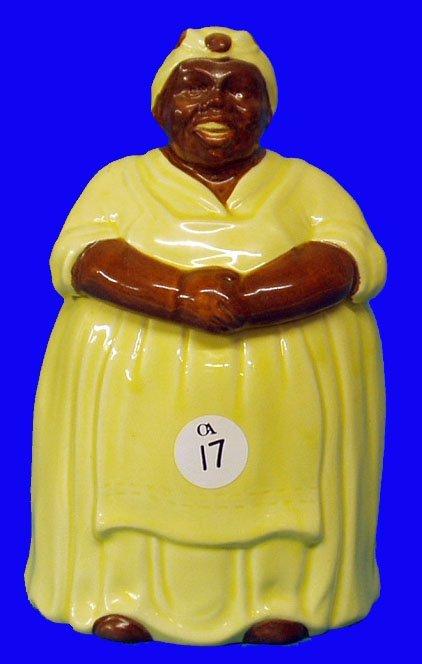 17: BLACK AMERICANA Mosaic Mammy Cookie Jar