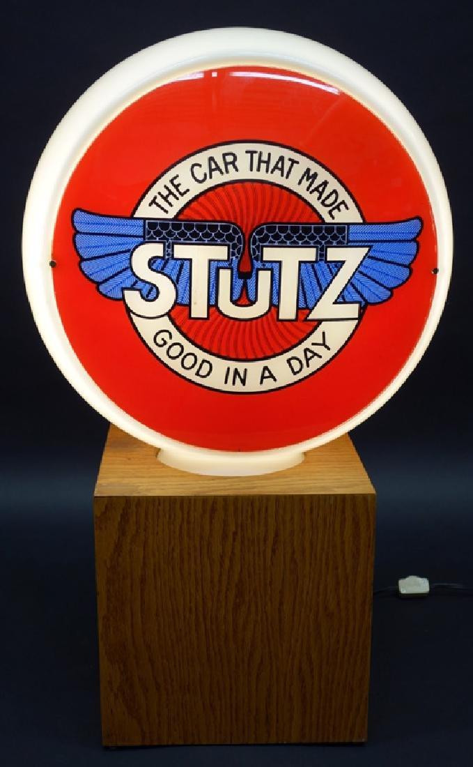 """""""STUTZ"""" CAR GLOBE"""
