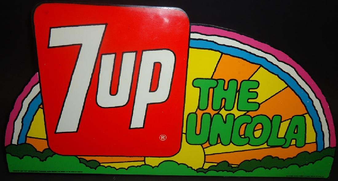 PETER MAX 7-UP MARQUEE SIGN