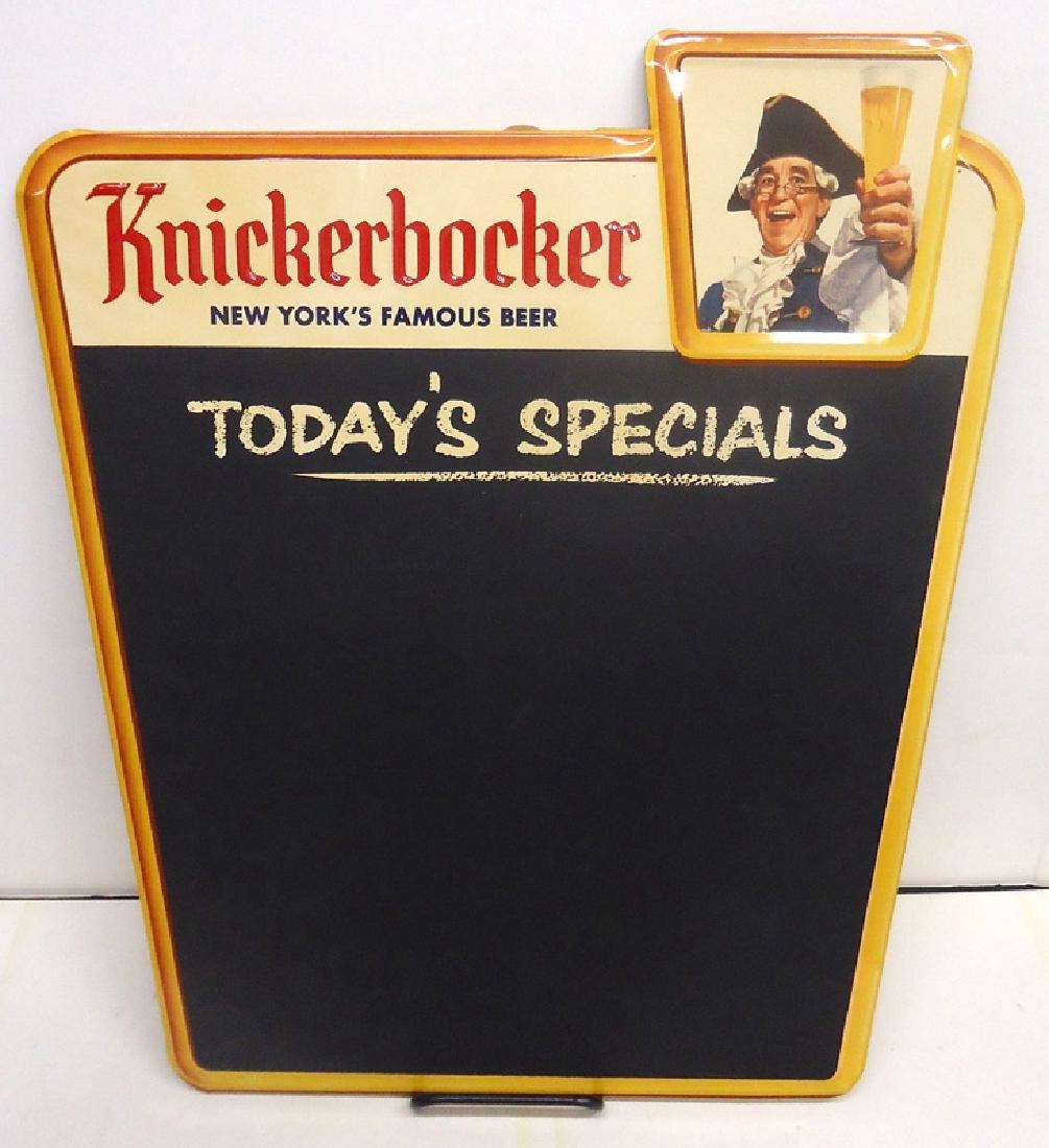 KNICKERBOCKER CHALKBOARD SIGN