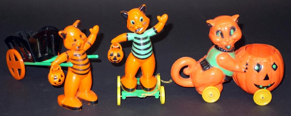 HALLOWEEN CANDY CONTAINERS (3)