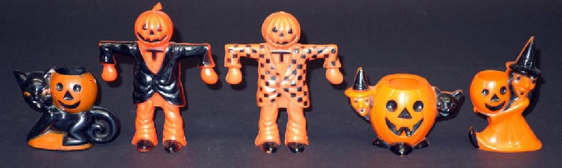 HALLOWEEN CANDY CONTAINERS (5)