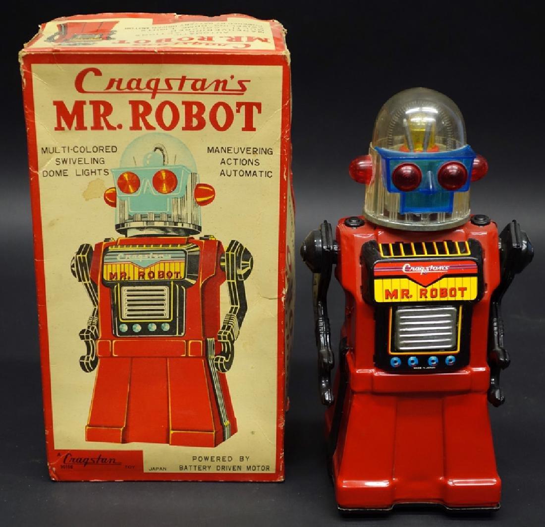 CRAGSTAN MR. ROBOT BATTERY OP