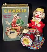 CHARLIE THE DRUMMING CLOWN BATTERY OP