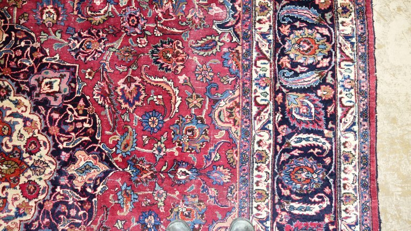 ROOMSIZE ORIENTAL CARPET - 5