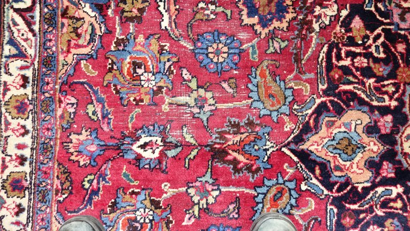 ROOMSIZE ORIENTAL CARPET - 7