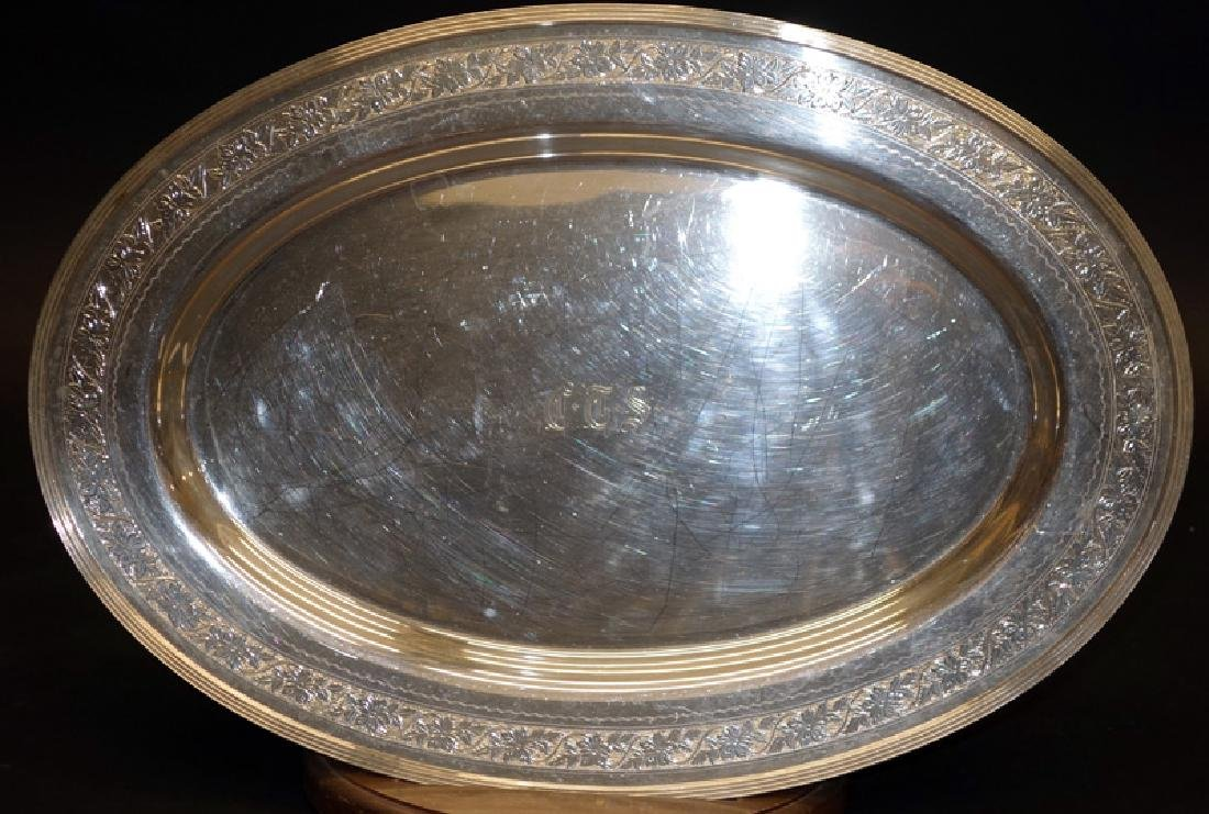 INTERNATIONAL STERLING PLATTER