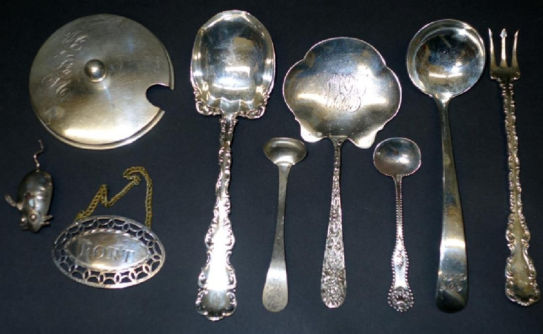 MISC. STERLING FLATWARE PIECES