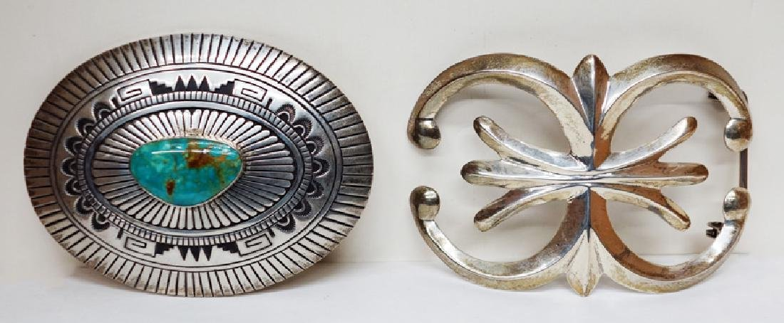 SOUTHWEST SILVER BUCKLES