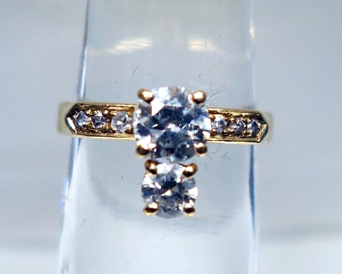 14K GOLD & DIAMOND RING
