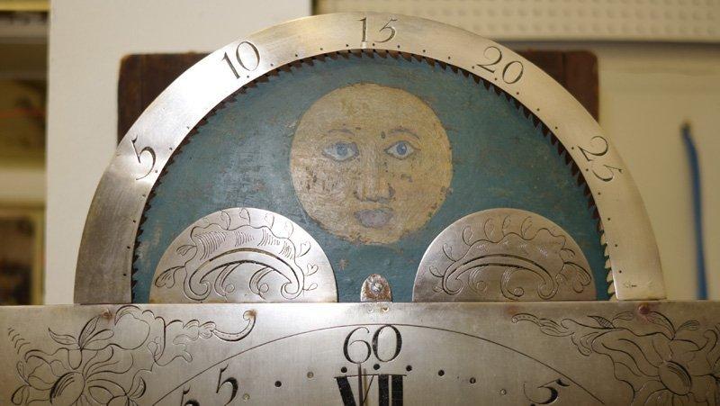 JOHN SPROGELL TALL CASE CLOCK - 10