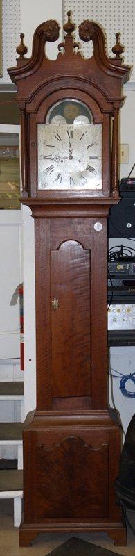 JOHN SPROGELL TALL CASE CLOCK - 2