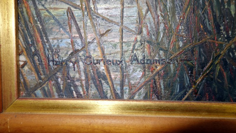 HARRY CURIEUX ADAMSON PINTAIL PAINTING - 4