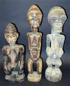 AFRICAN FEMALE FIGURAL CARVINGS 3