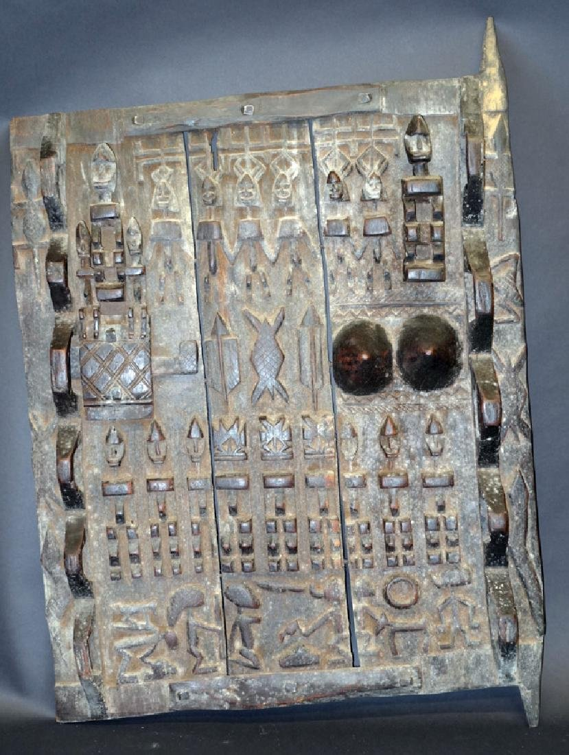 AFRICAN CARVED DOORS (2)