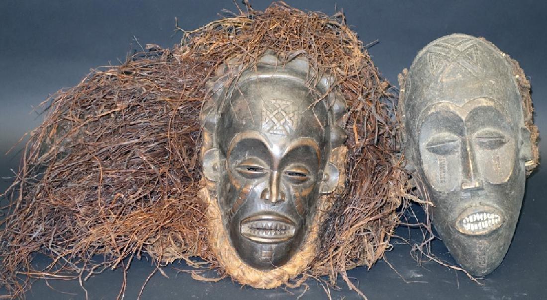 AFRICAN TRIBAL MASKS (2)