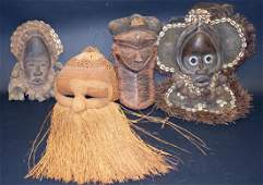 AFRICAN TRIBAL MASKS (4)