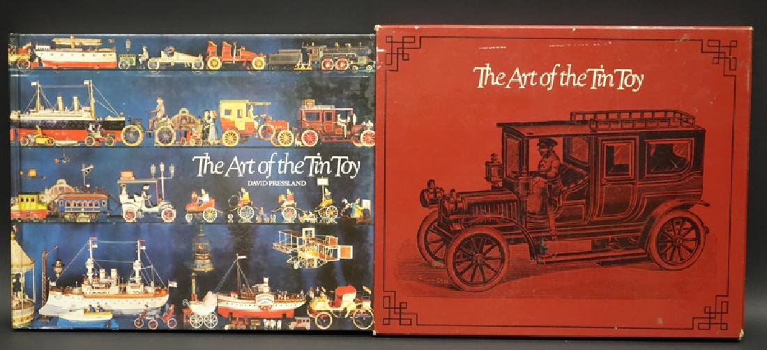 """""""ART OF THE TIN TOY"""" BOOK"""