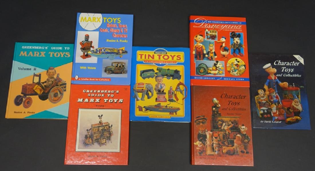 HARDBOUND TOY BOOKS (7)