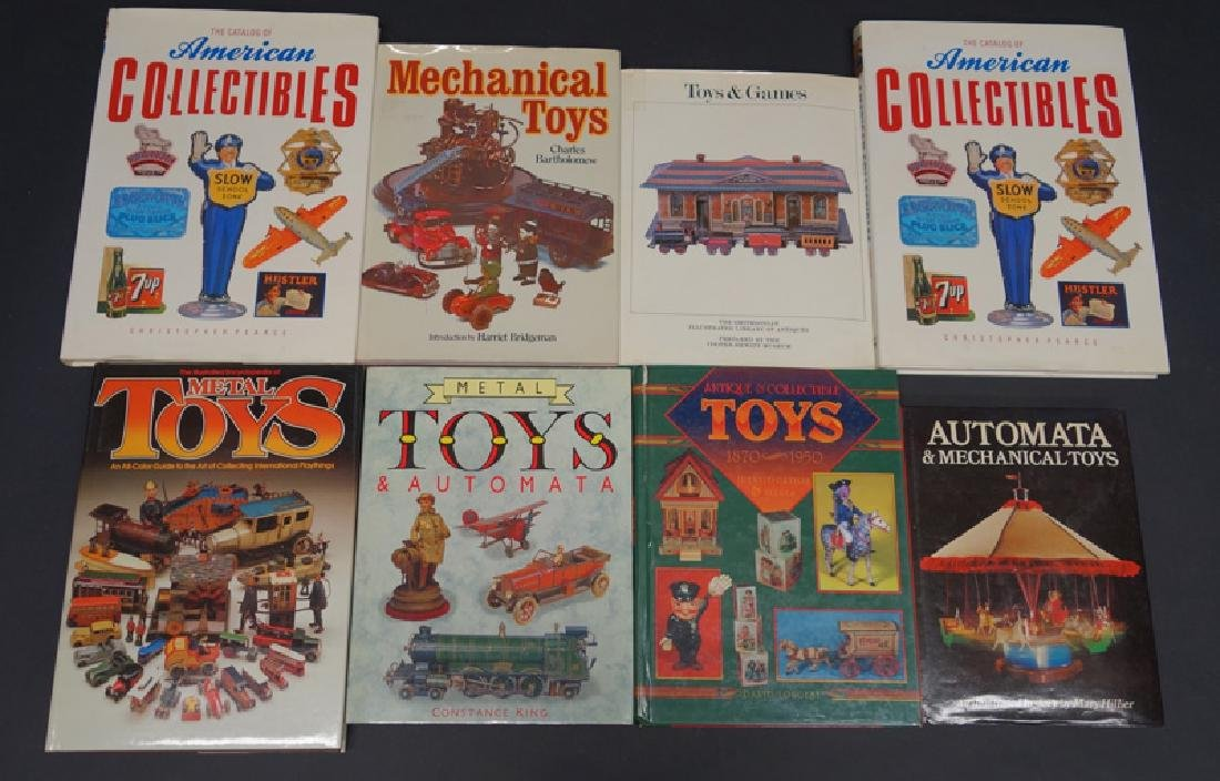HARDBOUND TOY BOOKS (8)