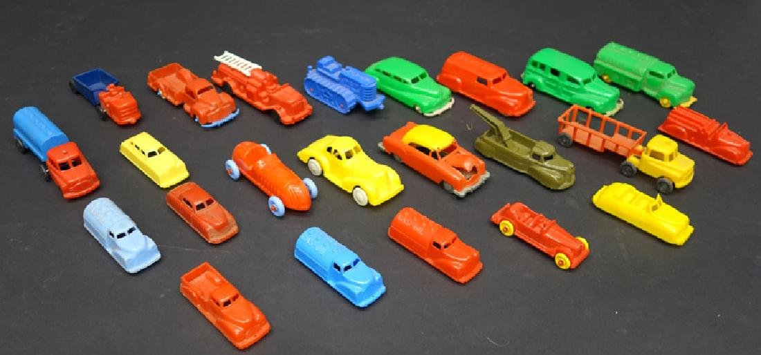 PLASTIC TOY CARS & VEHICLES (23)